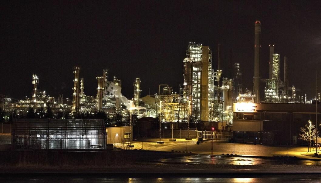 Equinors oljeraffineri på Mongstad. (Foto: Marit Hommedal, NTB scanpix)