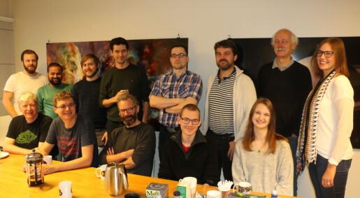 Denne gjengen er norgesmestere i tungregning