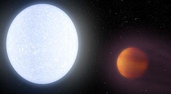 Fant brennhet planet som slår alle varmerekorder