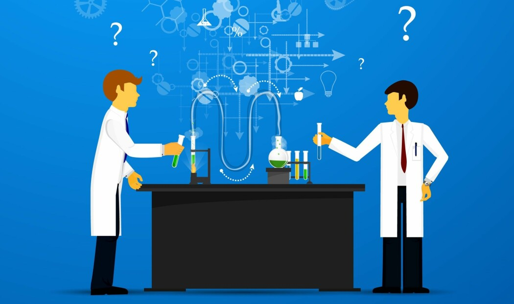 To hoder tenker bedre enn ett. To hoder fra ulike fagdisipliner kan kanskje tenke enda bedre enn det igjen. (Illustrasjon: Juli Rose, Shutterstock / NTB scanpix)