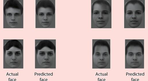 Gjenskapte ansikter fra hjerneaktivitet