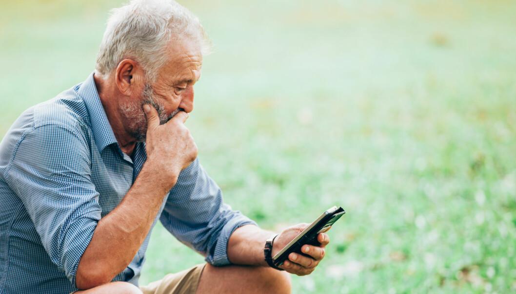 – Vi lager et fullautomatisert program som kommuniserer med deg ved hjelp av nett, e-post og SMS. Innholdet blir tilpasset etter dine behov, sier forsker. (Illustrasjonsfoto: Sketchphoto / Shutterstock / NTB scanpix)
