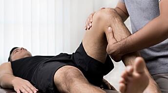 Forskere vet lite om fysioterapi: Nå skal de finne ut hvordan det går med pasientene