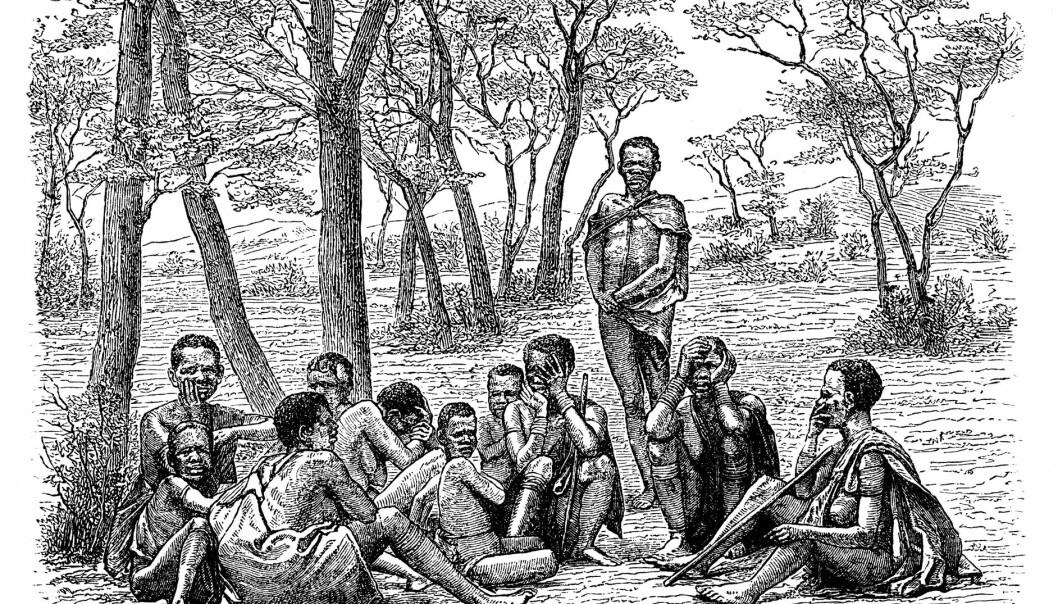 Arkeolog knuser myten om nakne buskmenn
