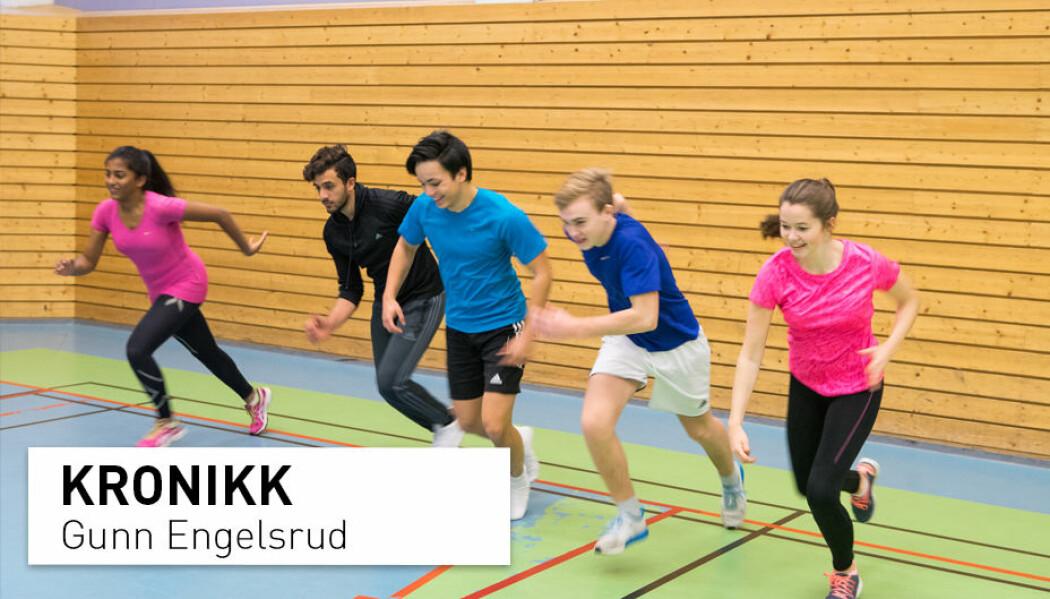 – Prosjektet som skulle sikre vitenen om hvorvidt fysisk aktivitet virker både på helse og læring har imidlertid ikke kunnet si noe sikkert om det som alle trodde på, skriver Gunn Engelsrud. (Foto: Thomas Brun / NTB scanpix)