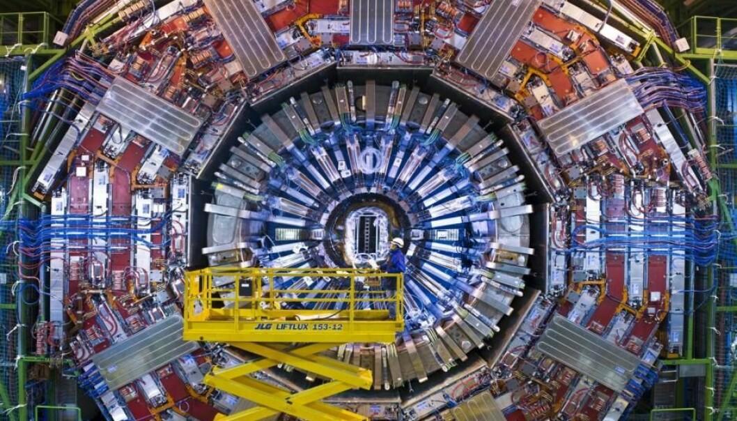 Large Hadron Collider (LHC) er verdens største akselerator. Fysikere er allerede nå i ferd med å forske på hvordan arvtakeren skal bygges. (Foto: CERN)