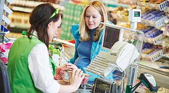 Klarer butikkene å få folk til å spise sunnere?