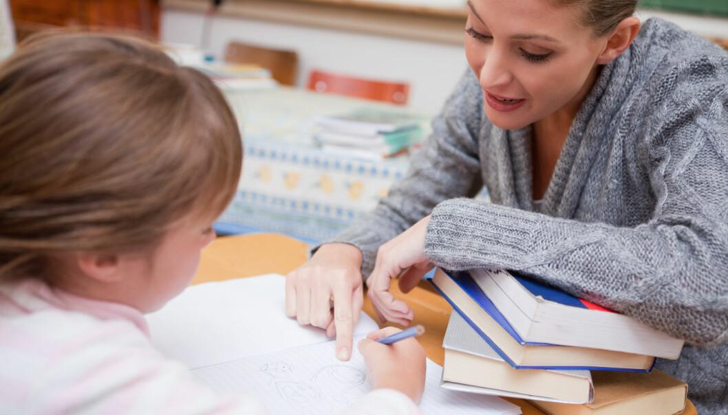 De mest mottakelige barna vil ta med seg situasjonen i hjemmet til skolen på godt og vondt. (Foto: Shutterstock / NTB scanpix)