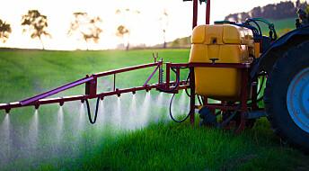 Kan plantevernmiddel hamne i laksen?