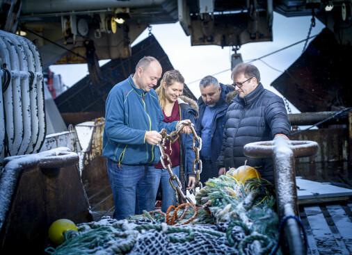 Frakter fisken levende for bedre kvalitet