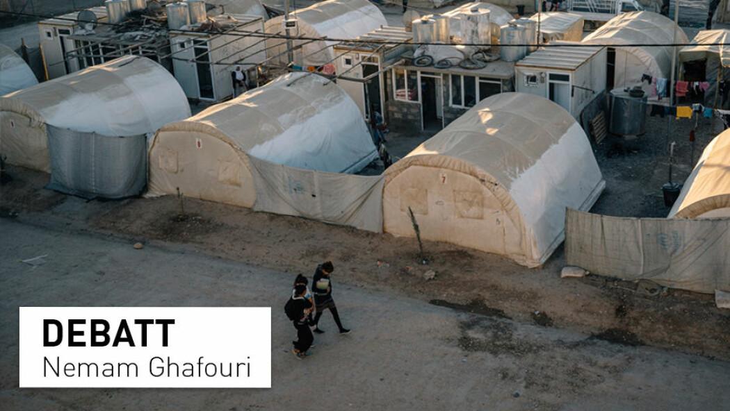– Det har gått fire år. Hvor lenge skal jezidiske overlevere var fornøyde med at de i hvert fall blir lagt merke til? De trenger konkret hjelp, nå, skriver Nemam Ghafouri. (Foto: Alice Martins / AP / NTB Scanpix)