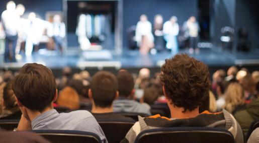 Ny studie: Lavere risiko for depresjon hos de som gikk på kino og teater