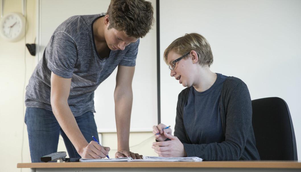 – Vi ser at samarbeid og utvikling på egen hånd kan utfylle hverandre og styrke læringsutbyttet for lærere, og videre forbedre elevenes læring, sier forsker (Illustrasjonsfoto: Berit Roald / NTB scanpix)