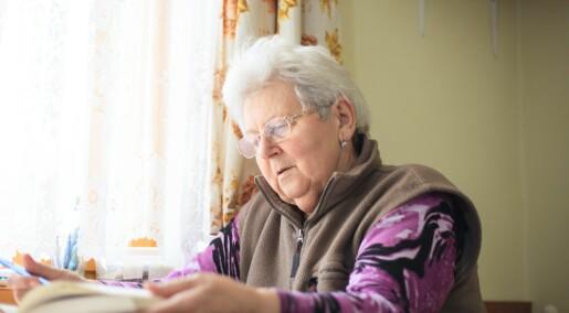 Ny studie: Eldre som løser kryssord og spiller vanskelige spill har skarpere hjerner
