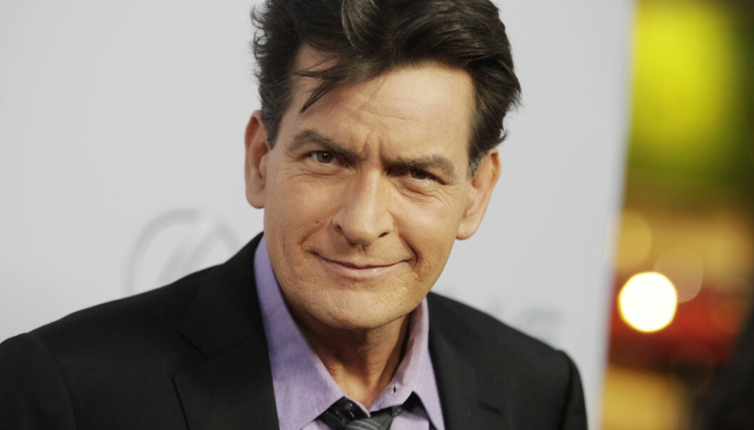 Charlie Sheen sto frem som hiv-positiv på amerikansk TV i 2015. Det førte til en dobling i salg av hiv-tester, og millioner av internettsøk om sykdommen.  (Foto: Fred Prouser / NTB scanpix)