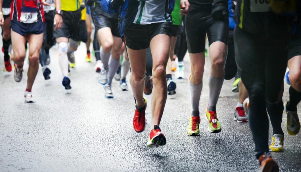 Etter en maraton har maratonløpere tegn på at nyrene har tatt skade, viser ny studie. Problemet kan være varmen, den fysiske utfoldelsen eller væskemangelen, sier forsker. (Foto: Mikael Damkier / Shutterstock / NTB scanpix)