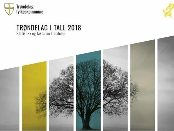 «Trøndelag i tall» (samisk subtrahert)
