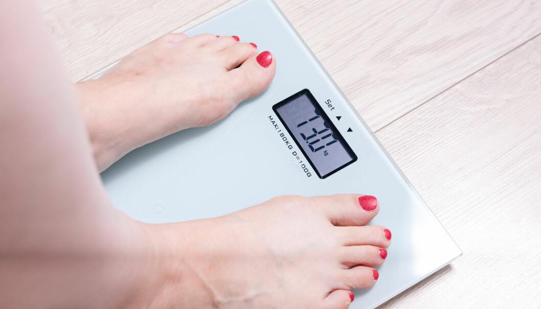Du har lavest risiko for å dø tidlig dersom BMI-en din ligger mellom 22,5 og 25. For en person som er 175 centimeter høy, betyr det en vekt mellom 69 og 76 kilo. (Foto: mind_photo / Shutterstock / NTB scanpix)