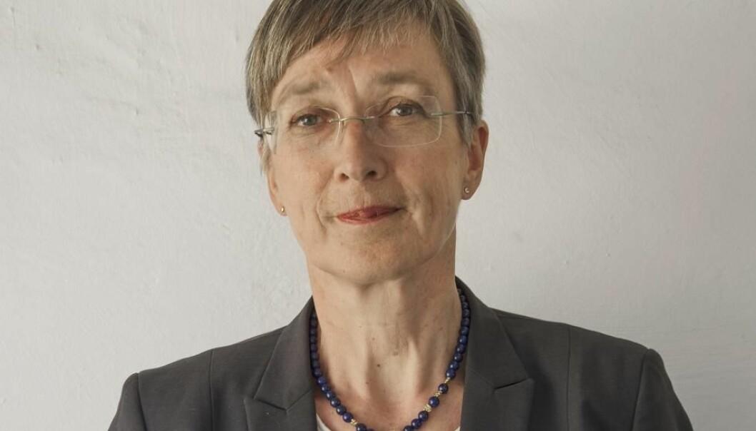 Kristin Bakken har en doktorgrad i Nordisk språkvitenskap og har jobbet som forsker i ni år før hun startet som leder i 2002. (Foto: NIKU)