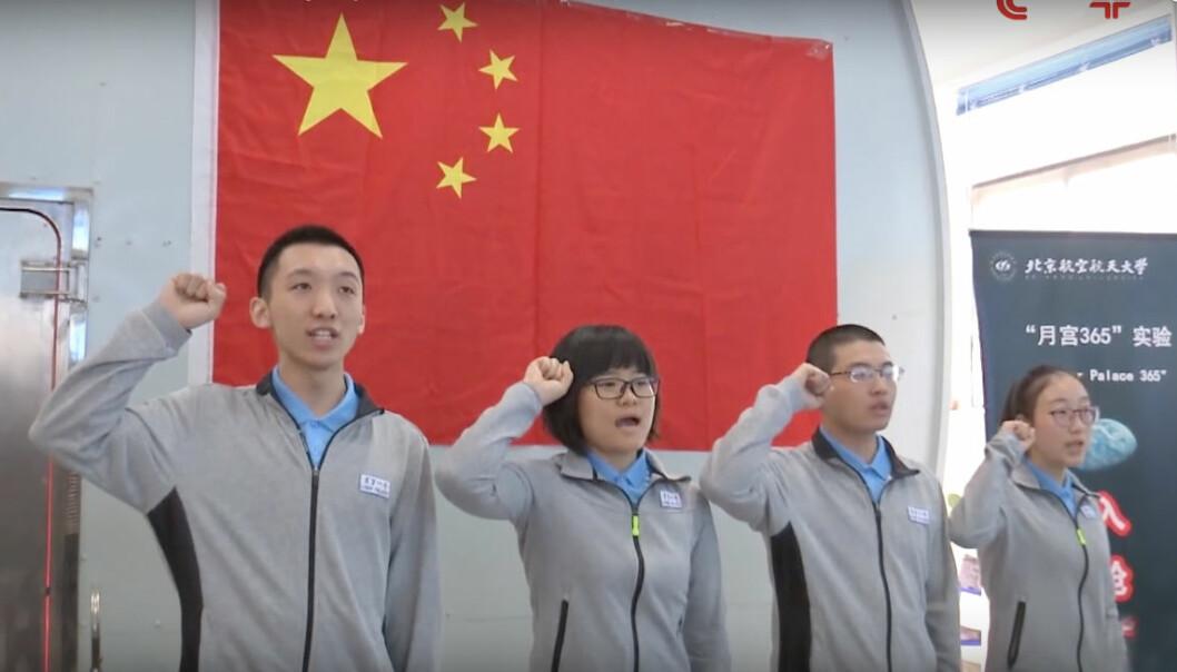 Kina planlegger Måne-opphold