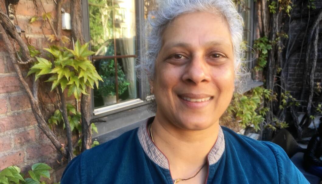 – Lekser har blitt umoderne. Men du blir ikke bedre hvis du ikke øver, sier matematikkprofessor Sujatha Ramdorai.  (Foto: Eivind Torgersen)