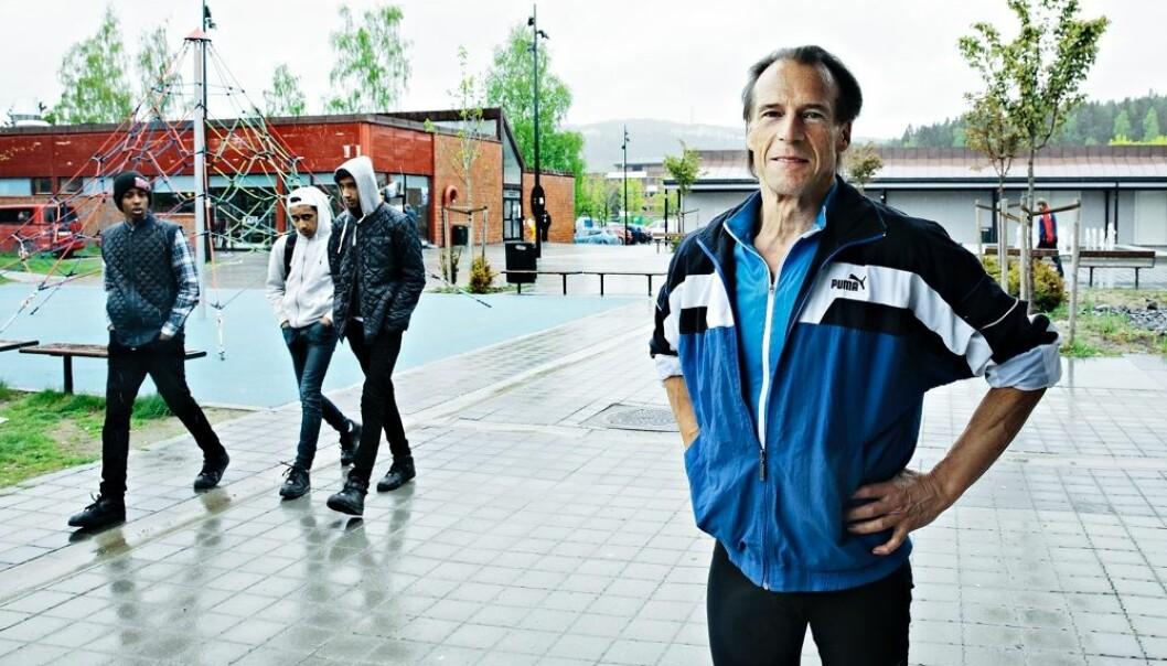 Jan Bøhler er den eneste sentrale Arbeiderparti-politikeren som har adresse i Groruddalen i Oslo. Han mener det betyr noe for de mange velgerne hans at  han bor der. (Foto: Signe Dons, Aftenposten/NTB scanpix)