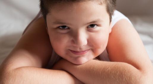 Barn går ned i vekt på tross av fedmegener