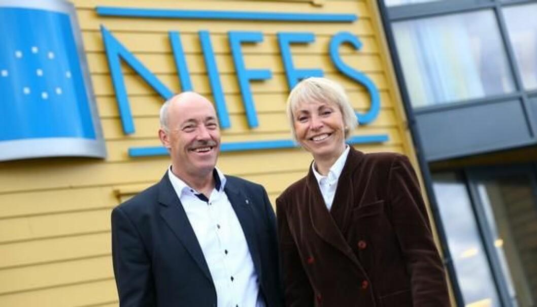 Ole Arve Misund er nåværende direktør på NIFES. Han er nylig utnevnt til direktør for Polarinstituttet, der han tiltrer 1. september 2017. Sissel Rogne blir da ny direktør. (Foto: Havforskningsinstituttet)
