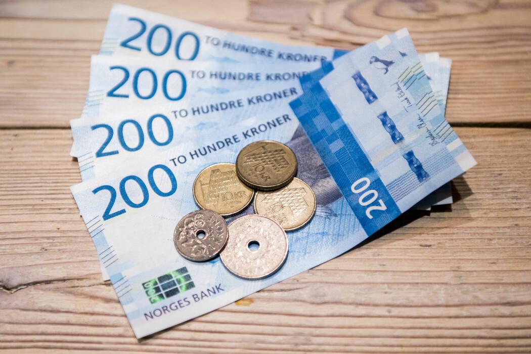 I motsetning til formuen, økte ikke lønningene våre mye i 2017. (Foto: Jon Olav Nesvold / NTB scanpix)