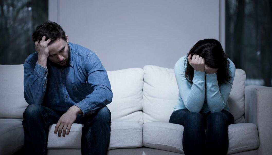 Mange par i konflikt avslutter den obligatoriske meklingen ved samlivsbrudd etter én time og lever i fastlåste konflikter etter bruddet. (Foto: Photographee.eu, Shutterstock, NTB scanpix)
