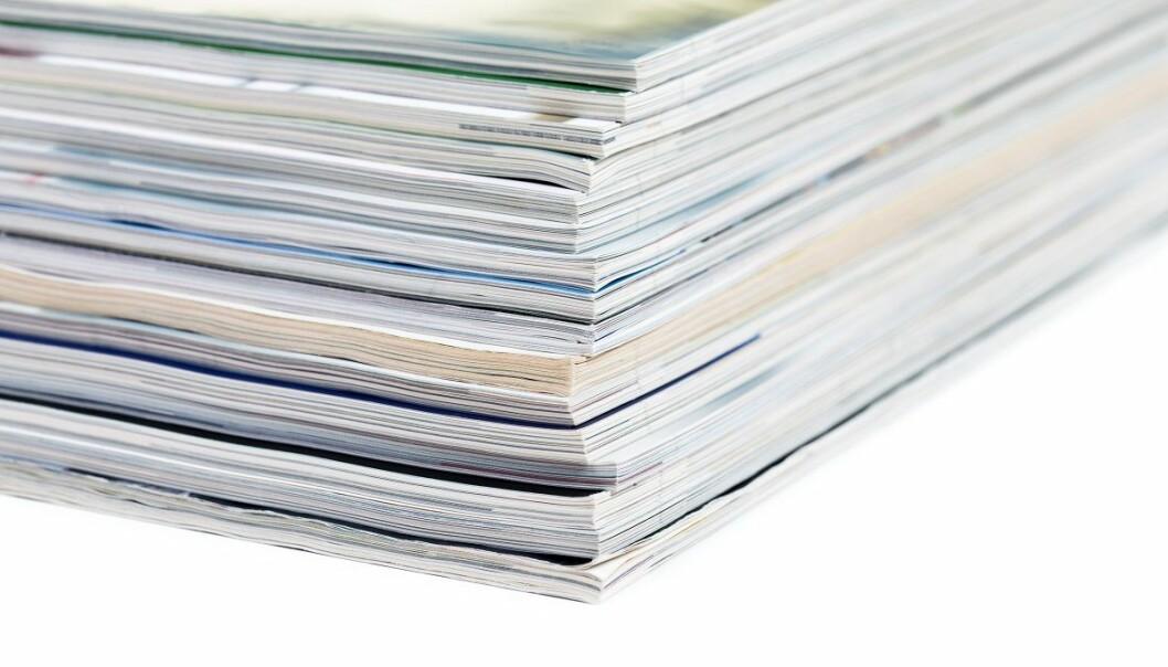 Hva skal til for å få artikkelen publisert i et vitenskapelig tidsskrift? Et godt navn?  (Foto: nito, Shutterstock, NTB scanpix)