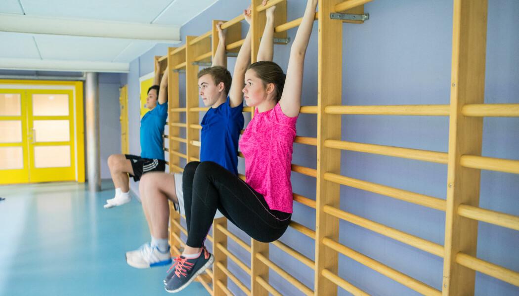 Noen tenåringer er opptatt av å holde seg i form og drikker ikke alkohol fordi den ødelegger for treningen. (Foto: Thomas Brun / NTB scanpix)