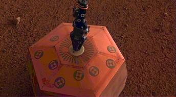 Første Mars-instrument på plass