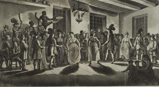 Da dansetimer var obligatorisk i militæret