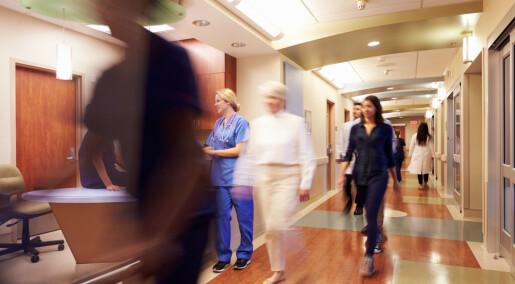 Høgt arbeidspress gjer omsorg til rutinearbeid