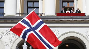 Norge i rødt, hvitt og … høyt?