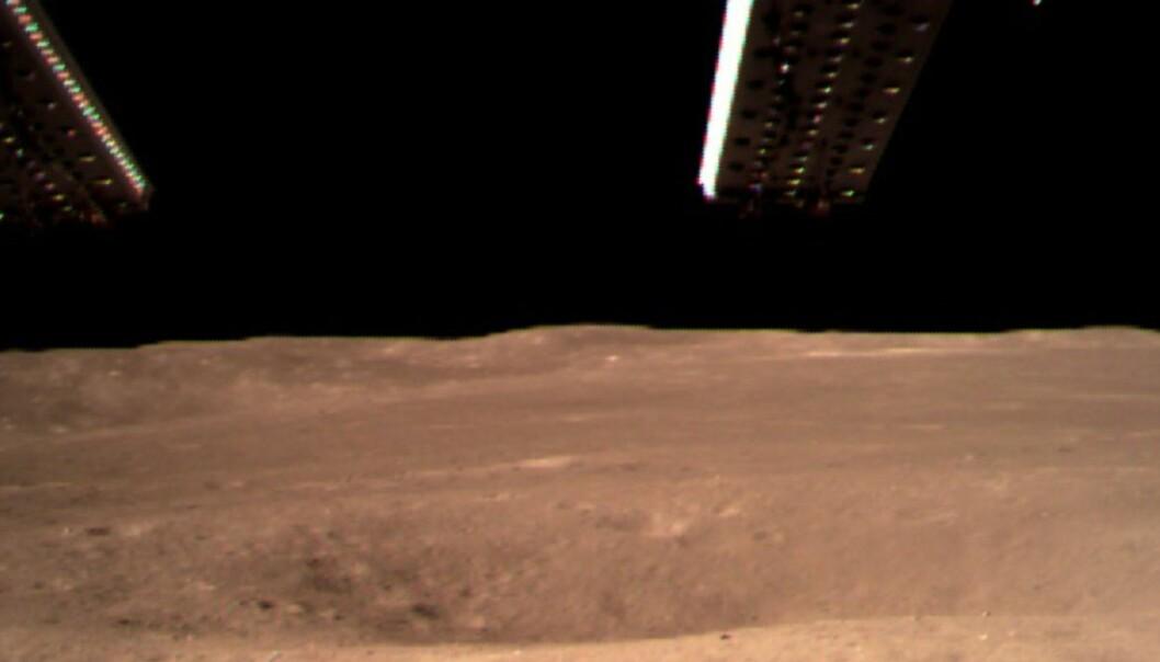 Kinesisk sonde landet på månens bakside