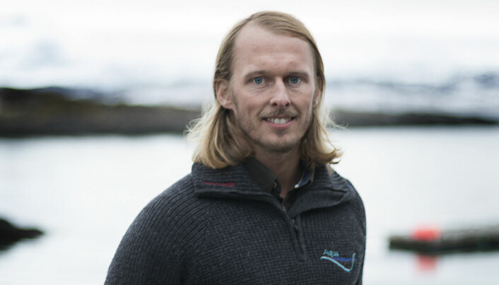 Fredrik Staven er stipendiat ved Nord universitet. (Foto: Svein-Arnt Eriksen)