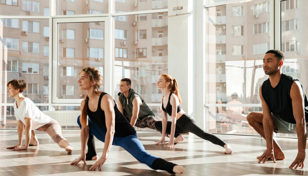 Hvor mye ligner dagens yoga på sin forgjenger fra middelalderen? (Illustrasjonsfoto: Colourbox)