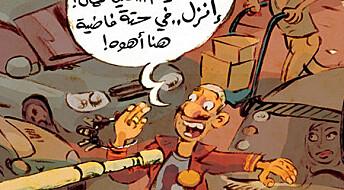 Den arabiske våren skapte en tegneserierevolusjon i Midtøsten