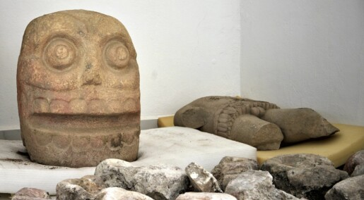 Tempel der mennesker ble flådd funnet i Mexico