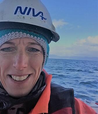 Marinbiolog Hilde Cecilie Trannum er prosjektleiar for blautbotnsovervakinga til NIVA. (Foto: Privat)