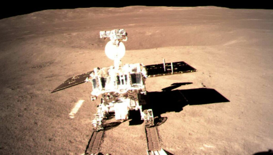 Månekjøretøyet heter Yutu-2. (Foto: China National Space Administration)
