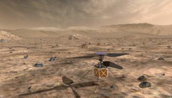 Trump vil ha helikopter på Mars
