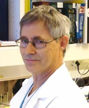 Fredrik Müller, avdelingsleder og professor, Avdeling for mikrobiologi OUS/UiO.