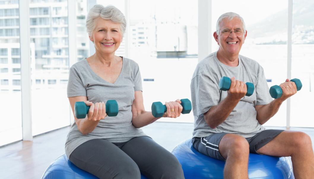 - Hvorfor kan ikke pasienter på sykehjem også få ta del i den viktige trenden med økt fysisk aktivitet og trening for eldre, spør kronikkforfatterne. (Foto: Shutterstock / NTB scanpix)