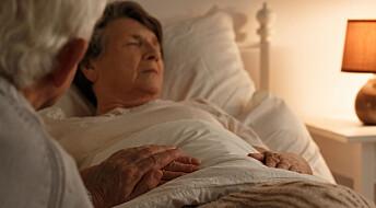 Mange planlegger å dø hjemme, men svært få får muligheten