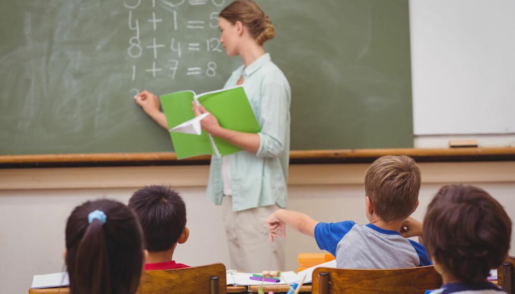 Hvordan skal læreren hamle opp med en bråkete klasse? Noen ganger kan det være nyttig med hjelp utenfra.  (Illustrasjonsfoto: ESB Professional / Shutterstock / NTB scanpix)