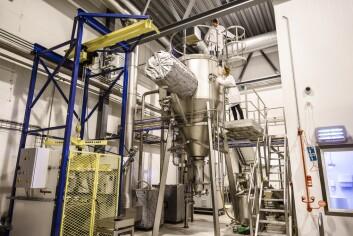 Like utenfor Tromsø drifter Nofima pilotfabrikken Biotep. Dette er landets eneste anlegg der produkter fremstilt på laboratorium kan produseres i fullskala og testes i markedet, før bedrifter bygger egne fabrikker. ( Foto: Lars Åke Andersen / Nofima)