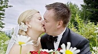 Færre gifter seg